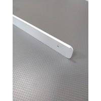 Торцова планка для стільниці LUXEFORM права колір алюміній